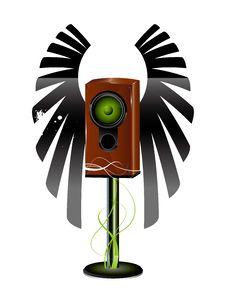 Icon Speaker Royalty Free Stock Photos