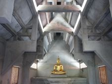 Golden Buddha Image Stock Photography