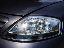 Free Headlamp Stock Photography - 3684982