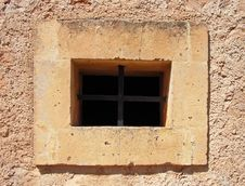 Free Dungeon Window Royalty Free Stock Photography - 3685327