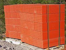 Stack Of Bricks Stock Photography