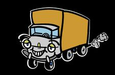 Free Cartoon Truck Stock Photos - 3685713