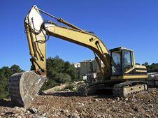 Free Bulldozer 3 Stock Photo - 3685780