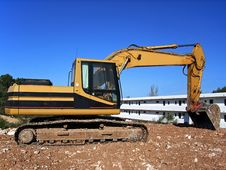 Free Bulldozer Working Stock Image - 3685801