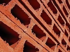 Stacked Bricks Royalty Free Stock Photo