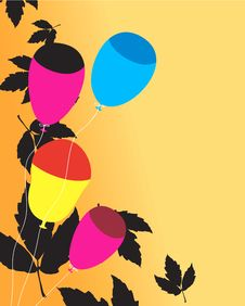 Free Colourful Balloons Stock Photo - 3686960