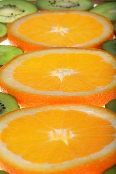 Free Orange And Kiwi Stock Photos - 3688693