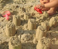 Free Building Sand Towers Stock Photos - 3688923