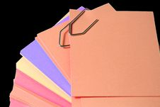 Free Colored Paper Notes Stock Photography - 3689002