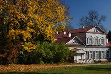 Abramtsevo Manor, Moscow Stock Image