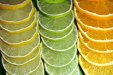 Free Lime, Lemon And Orange Royalty Free Stock Photography - 3689987