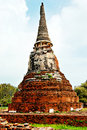 Free Ancient Buddhist Temple Ruins In Ayuttaya, Thailan Stock Images - 3690604