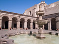 Free Courtyard At Arequipa, Peru Royalty Free Stock Photography - 3692367