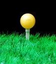 Free Golfball On Tee Stock Photography - 3695292