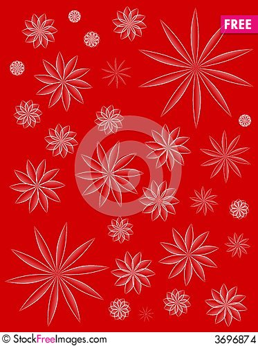 Free Simple Red Decorative Xmas Background Stock Images - 3696874