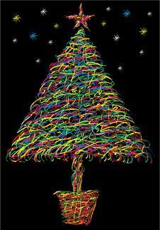 Free Christmas Tree Royalty Free Stock Photo - 3690205