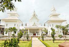Free Unique White Buddha Temple In Thailand Stock Image - 3690701