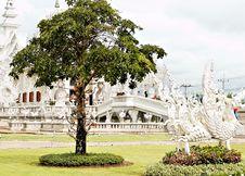 Free Unique White Buddha Temple In Thailand Stock Photo - 3690750