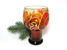 Free Hand-painted Candlestick Stock Photos - 3690813