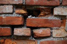 Free Bricks In The Wall Royalty Free Stock Photos - 3691228