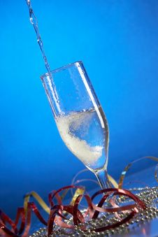 Free Glass With Champagne Stock Photos - 3691343