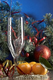 Free Glass With Champagne Royalty Free Stock Image - 3691416