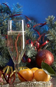 Free Glass With Champagne Royalty Free Stock Image - 3691526
