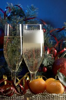 Free Glass With Champagne Stock Photos - 3691583