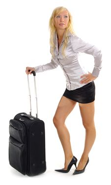 Free Woman And Business Travel Royalty Free Stock Photo - 3691945