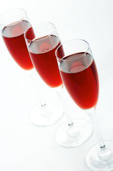 Free Glasses With Red Wine Royalty Free Stock Photography - 3692707