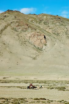 Free Himalayan Nomads Stock Photo - 3693420