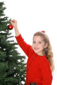 Free Happy Child Hanging Ornament Stock Photos - 3693463