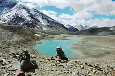 Free Himalayan Lakes Stock Photography - 3693512