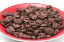 It Is A Lot Of Grains Of Coffee Royalty Free Stock Photo