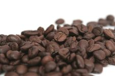 It Is A Lot Of Grains Of Coffee Stock Images