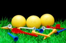 Free Golfball Royalty Free Stock Photography - 3694937