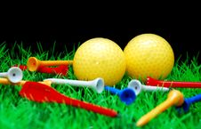 Free Golfball Royalty Free Stock Photos - 3695008
