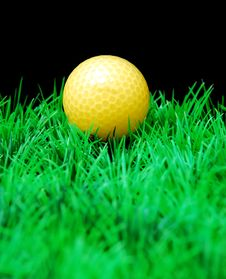 Free Golfball Royalty Free Stock Photography - 3695157