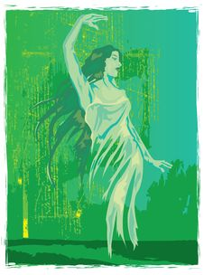 Free Green Fairy Absinthe Royalty Free Stock Photo - 3695625