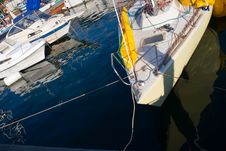 Free Yachts In Marina Stock Photos - 3696493