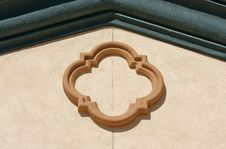 Abstract Of Architectural Details Stock Photo