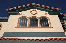Abstract Of Architectural Details Royalty Free Stock Photo