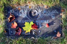 Free Grave Marker Stock Images - 3698234