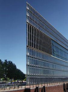 ZDF Gebäude Hamburg Building Royalty Free Stock Photos