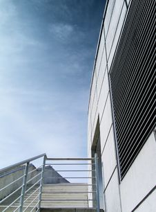 Agentur Am Hafen Treppe Royalty Free Stock Image