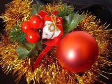 Free Christmas Decoration Royalty Free Stock Photos - 3698818