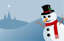 Free Plastic Snowman Stock Images - 3699284