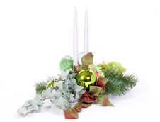 Free Christmas Table Decoration Stock Images - 3699314