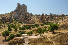 Free Rocks Near Goreme, , Cappadocia, Turkey Stock Image - 36924821