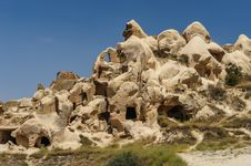 Free Rocks Near Goreme,  Cappadocia, Turkey Royalty Free Stock Photography - 36924827